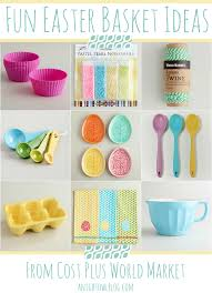 easter present ideas fun easter basket gift ideas from cost plus world market basket
