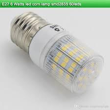 6 watt led light bulb price led e27 nature white smd 2835 60leds 6 watt led corn l ac 220v