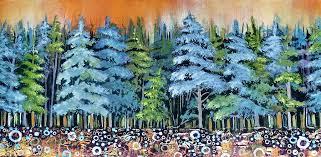 blue spruce blue spruce painting by tammy watt