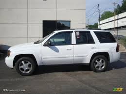 chevrolet trailblazer 2008 2008 summit white chevrolet trailblazer lt 4x4 33146882 gtcarlot