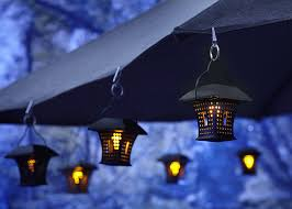 solar led umbrella lights moonrays 91278 solar mission umbrella and awning led clip light 1