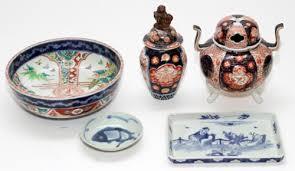 canton porcelain japanese imari and canton porcelain bowl censer price estimate