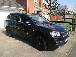 jeep crossover black 2012 jeep compass sport plus crd 2 2 turbo diesel black 58k