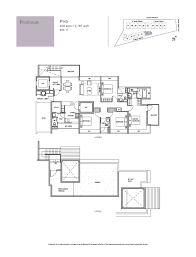 holland residences floor plan penthouse 4 bed holland residences