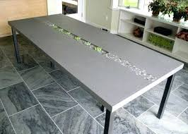 Stainless Steel Dining Table Top  Theltco - Stainless steel kitchen table top