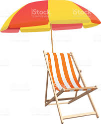 Clip On Umbrellas For Beach Chairs Beach Chairs Clip Art Vector Images U0026 Illustrations Istock