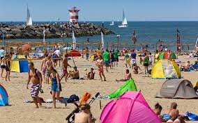 netherlands beaches map the best seaside towns the netherlands