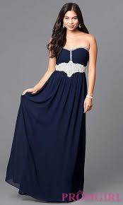 trends 2016 2017 navy navy blue empire waist long prom dress prom