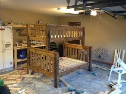 bunk beds woodworking plans for bunk beds loft over queen triple