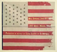 Th Flag 2nd Minnesota National Battle Flag U2013 February 3 1862 Museum