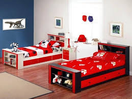 Red Bedroom For Boys Rustic Twin Beds For Boys Brown Bedding Gray Bedrooms First Outlet
