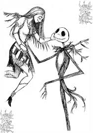 12 pics sally nightmare christmas coloring pages jack