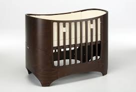 Modern 4 In 1 Convertible Crib by Leander Collection 4 In 1 Convertible Crib In Walnut