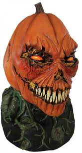 pumpkin mask mutant pumpkin mask eerie costumes horror shop