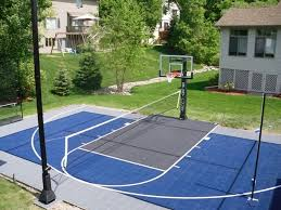 Sports Courts For Backyards Basketball Courts Gallery Sport Court North Serving Mn