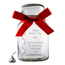 engraved keepsakes mothers day personalized candy jar personalized jar