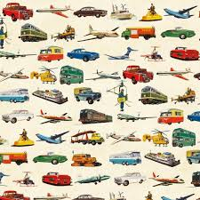 vintage wrapping paper vintage transport wrapping paper 5 sheets dotcomgiftshop