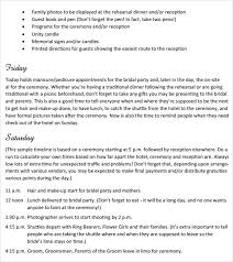 sle of wedding ceremony program wedding hair and makeup schedule template mugeek vidalondon