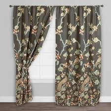 Shower Curtains With Birds Bird Of Paradise Pakshi Curtains Set Of 2 World Market