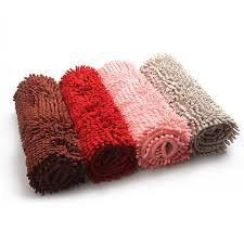 Microfiber Chenille Bath Rug Aliexpress Com Buy East Microfiber Chenille Mats Doormat Bath