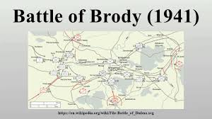 Battle Of Kursk Map Battle Of Brody 1941 Youtube