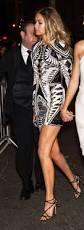 dress gigi hadid gorgeous sparkle trendy black white gold