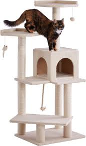 frisco 57 inch cat tree cream chewy com