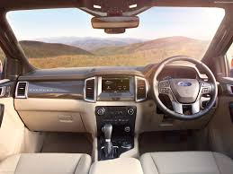 ford escape 2016 interior ford everest 2016 pictures information u0026 specs
