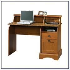 Black Computer Desk With Hutch Desk Sauder Graham Hill Computer Desk With Hutch In Autumn Maple