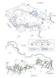 Czechoslovakia Map Fall Grün Plan Of Invasion Of Czechoslovakia 1295x1790 Mapporn