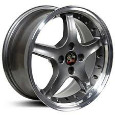 98 mustang cobra wheels fits ford mustang cobra 4 lug fr04 factory oe replica wheels rims
