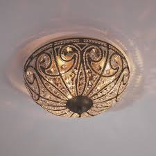 Bronze Ceiling Light Crystal Ceiling Lights Shades Of Light