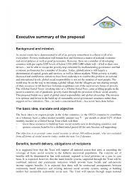 sample executive summary example report exa cmerge
