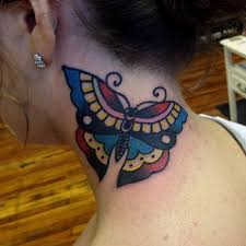 neck simple traditional butterfly