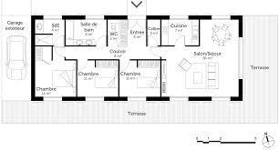 plan maison 7 chambres plan maison de plain pied 110 m avec 3 chambres ooreka
