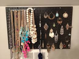 diy jewelry hanger made from a second hand frame pinterest