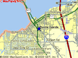 punta gorda fl map punta gorda florida map