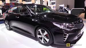 Kia Optima 2015 Interior 2016 Kia Optima Gt Exterior And Interior Walkaround 2015