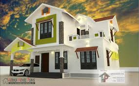 Asian Kerala House Plansy Home Design And Floor Mix Roof March