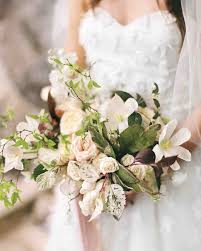 wedding flowers greenery 40 chic cascading wedding bouquets martha stewart weddings