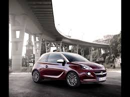 opel red opel adam dark red static wallpapers opel adam dark red static