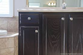 kitchen cabinet staining how to stain oak cabinets the simple method without sanding
