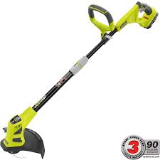Home Depot Price Adjustment by Ryobi One 18 Volt Lithium Ion Hybrid Electric Cordless String