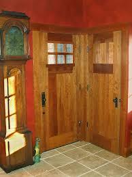 Craftsman Closet Doors Craftsman Entry And Closet Doors In Cherry Timothy S