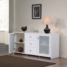 White Sideboard With Glass Doors Minimalist White Buffet Cabinet U2014 New Decoration White Buffet