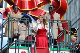 Thanksgiving November 26 Mariah Carey At The Macy U0027s Thanksgiving Day Parade And Her
