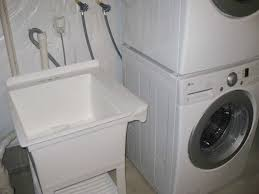 how to install a laundry sink delightful how to install laundry sink installing utility sink