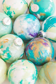 diy marbled ornaments sugar and charm sweet recipes