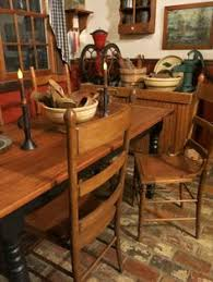 Primitive Kitchen Table by Decor Ideas For Our Marshal Hooker Cabin At Red Oak Ii Sure