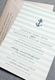 Wedding Invitations Nautical Theme - navy blue u0026 mint nautical wedding invitation loving the stripes